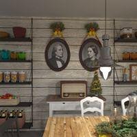 progetti camera abitabile cucina arte ambientale 3d