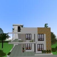 floorplans butas terasa dekoras pasidaryk pats eksterjeras landšaftas аrchitektūra 3d