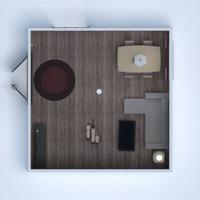 floorplans apartment furniture decor living room 3d