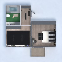 floorplans apartment furniture decor bedroom living room kitchen lighting renovation household studio entryway 3d