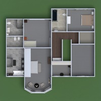 progetti casa architettura vestibolo 3d