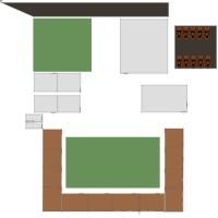 Floorplans House Terrace 3d