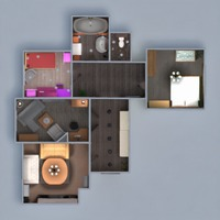 floorplans apartment furniture diy bathroom bedroom living room kitchen kids room household storage 3d