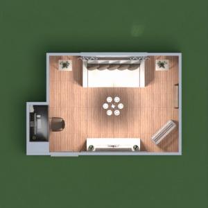 floorplans mieszkanie sypialnia biuro mieszkanie typu studio 3d