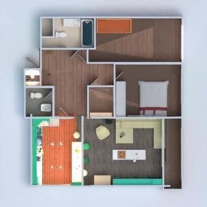 floorplans appartement meubles décoration salon cuisine rénovation salle à manger 3d