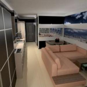 floorplans apartment furniture decor living room kitchen lighting studio 3d