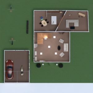 планировки дом терраса мебель декор ванная спальня гостиная гараж кухня улица 3d