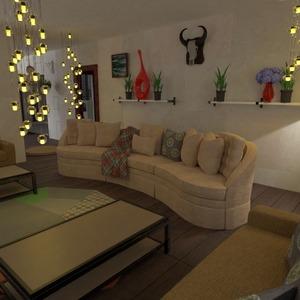 floorplans casa veranda arredamento illuminazione sala pranzo 3d