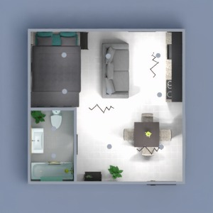 floorplans apartment bathroom kitchen 3d