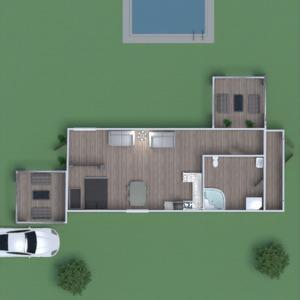 floorplans bathroom bedroom kitchen outdoor 3d