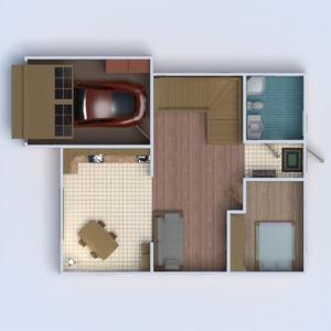 floorplans namas garažas 3d