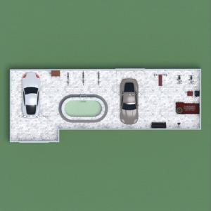 floorplans furniture garage storage studio 3d