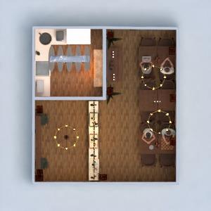 floorplans baldai dekoras virtuvė apšvietimas renovacija namų apyvoka kavinė valgomasis аrchitektūra 3d