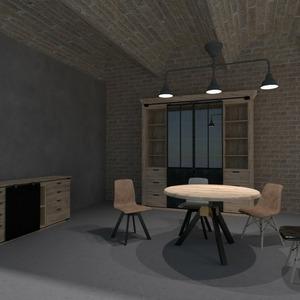 floorplans butas baldai svetainė valgomasis 3d