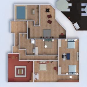 floorplans casa terraza decoración cuarto de baño dormitorio salón cocina exterior iluminación arquitectura 3d