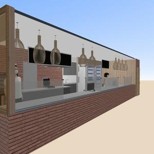 планировки освещение ремонт кафе архитектура 3d