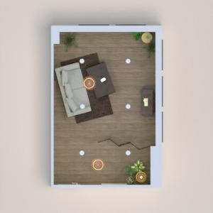 floorplans wohnung haus mobiliar dekor wohnzimmer 3d