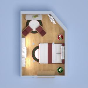 floorplans sypialnia pokój dzienny 3d