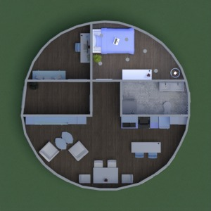 floorplans appartamento studio 3d
