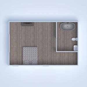 planos cuarto de baño dormitorio salón cocina comedor 3d