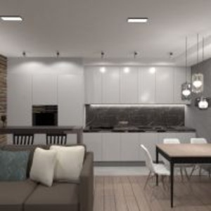 floorplans apartment furniture decor living room kitchen lighting renovation storage studio 3d