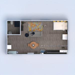 floorplans wohnung schlafzimmer wohnzimmer küche studio 3d