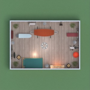 floorplans apartment bedroom 3d
