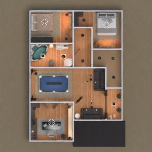 floorplans casa mobílias casa de banho dormitório quarto cozinha área externa escritório iluminação estúdio 3d
