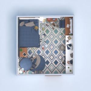 floorplans furniture decor bedroom kids room 3d