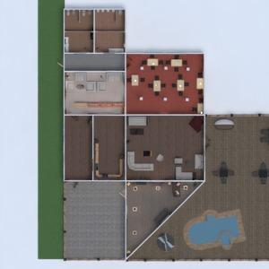 floorplans kavinė studija 3d