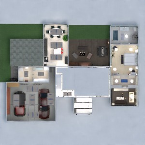 floorplans haus terrasse mobiliar dekor schlafzimmer wohnzimmer garage küche kinderzimmer beleuchtung renovierung lagerraum, abstellraum 3d
