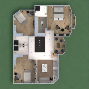 floorplans house furniture decor lighting renovation 3d