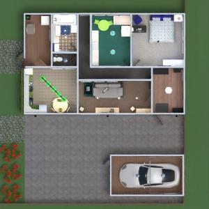floorplans dom taras meble wystrój wnętrz łazienka sypialnia pokój dzienny kuchnia pokój diecięcy 3d