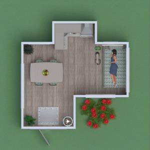 floorplans appartement meubles 3d