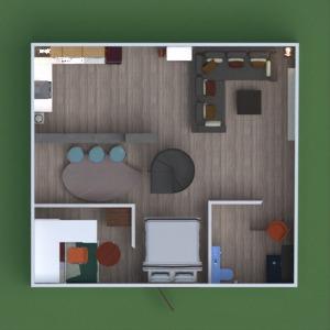 floorplans butas baldai dekoras apšvietimas аrchitektūra 3d