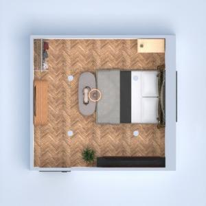 floorplans furniture decor bedroom lighting architecture 3d