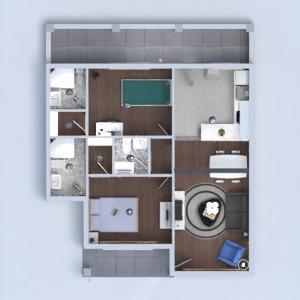 floorplans house bedroom living room kitchen renovation 3d