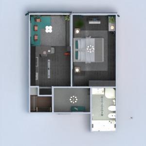 floorplans apartamento muebles cuarto de baño dormitorio salón cocina iluminación reforma 3d