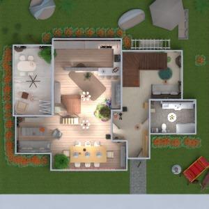 floorplans casa varanda inferior decoração dormitório quarto quarto infantil reforma utensílios domésticos 3d