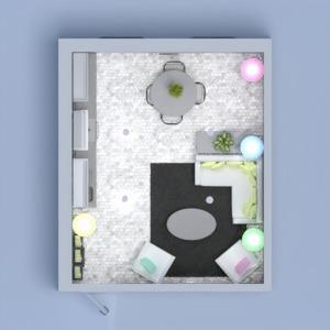 planos muebles bricolaje salón cocina iluminación 3d