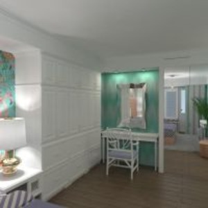 floorplans apartment furniture bedroom 3d