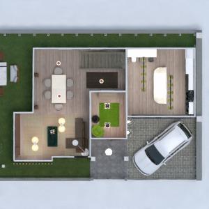 planos casa muebles decoración habitación infantil arquitectura 3d