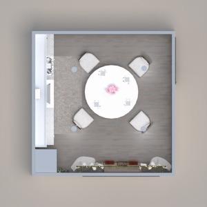 планировки мебель столовая 3d