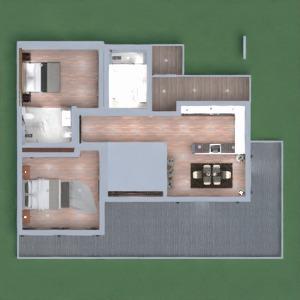 floorplans appartement meubles décoration diy salle de bains 3d