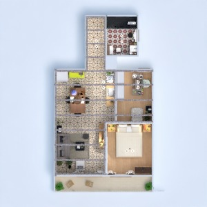 floorplans apartment diy living room kitchen office 3d