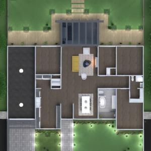 floorplans casa muebles salón cocina exterior reforma paisaje hogar descansillo 3d