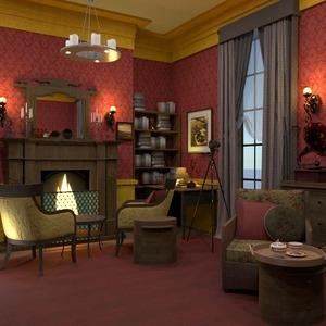 floorplans mieszkanie dom meble pokój dzienny remont 3d