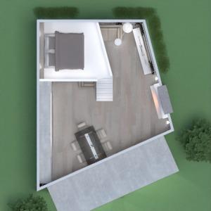 floorplans namas miegamasis svetainė аrchitektūra studija 3d