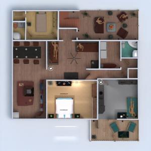 планировки дом мебель декор архитектура 3d