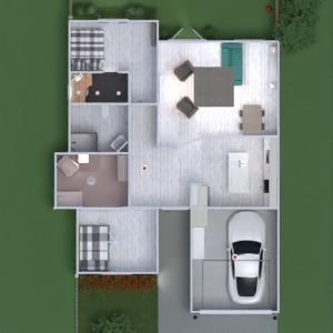 floorplans namas miegamasis svetainė garažas virtuvė eksterjeras vaikų kambarys biuras apšvietimas renovacija valgomasis sandėliukas 3d